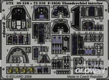 F-105G Thunderchief - Interior [Trumpeter] · EDU SS310 ·  Eduard · 1:72