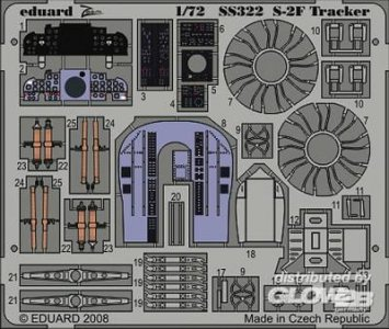 S-2F [Hasegawa] · EDU SS322 ·  Eduard · 1:72