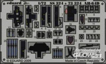 AH-64D S.A. Zoom for Hobby Boss kit · EDU SS324 ·  Eduard · 1:72