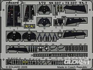 TA-7 S.A. Hobby Boss · EDU SS337 ·  Eduard · 1:72