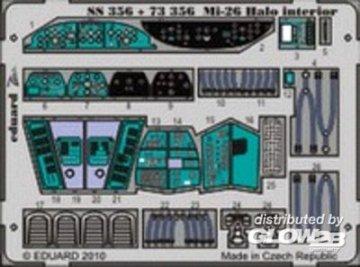 Mi-26 Halo - Interior [Revell] · EDU SS356 ·  Eduard · 1:72