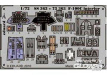 F-100C - Interior S.A. [Trumpeter] · EDU SS363 ·  Eduard · 1:72
