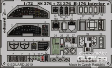 B-17G - Interior S.A. [Revell] · EDU SS376 ·  Eduard · 1:72