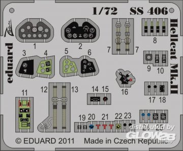 Hellcat Mk.II S.A. [Eduard] · EDU SS406 ·  Eduard · 1:72