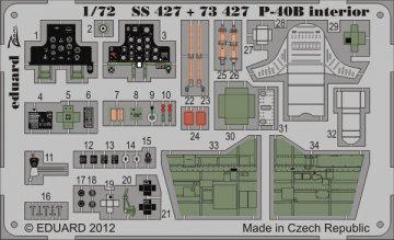 P-40B - Interior S.A. [Airfix] · EDU SS427 ·  Eduard · 1:72