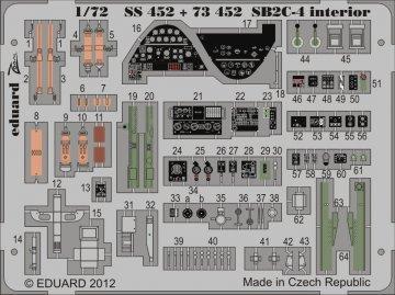 SB2C-4 - Interior S.A. [Cyber Hobby] · EDU SS452 ·  Eduard · 1:72