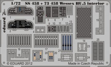 Wessex HU.5 - Interior S.A. [Italeri] · EDU SS458 ·  Eduard · 1:72