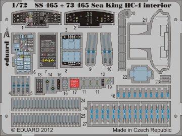 Sea King HC-4 - Interior S.A. [Cyber Hobby] · EDU SS465 ·  Eduard · 1:72