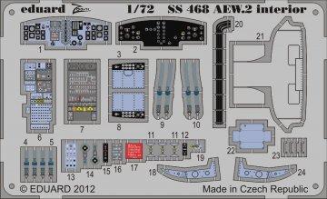 Sea King AEW.2 - Interior [Cyber Hobby] · EDU SS468 ·  Eduard · 1:72