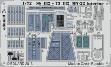 MV-22 - Interior [Hasegawa] · EDU SS482 ·  Eduard · 1:72