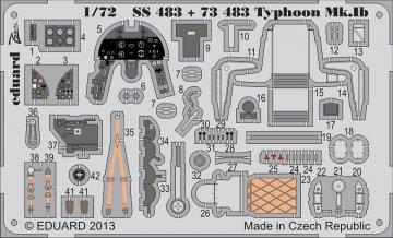 Hawker Typhoon Mk.IB S.A. [Airfix] · EDU SS483 ·  Eduard · 1:72