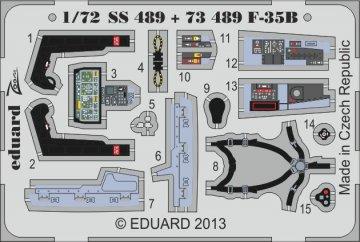 F-35B - Interior [Fujimi] · EDU SS489 ·  Eduard · 1:72
