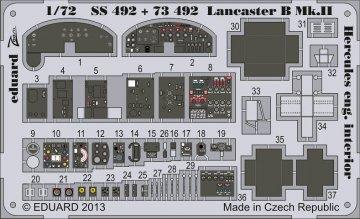 Lancaster B Mk.II - Interior S.A. [Airfix] · EDU SS492 ·  Eduard · 1:72