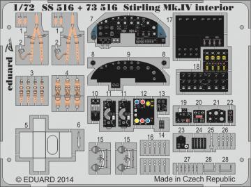 Stirling Mk.IV - Interior [Italeri] · EDU SS516 ·  Eduard · 1:72