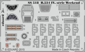 Avia B.534 IV.serie - Weekend Edition [Eduard] · EDU SS518 ·  Eduard · 1:72