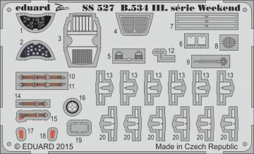 Avia B.534 III.serie - Weekend Edition [Eduard] · EDU SS527 ·  Eduard · 1:72