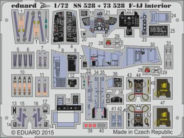 F-4J VF-84 Jolly Rogers - Interior S.A. [Academy] · EDU SS528 ·  Eduard · 1:72