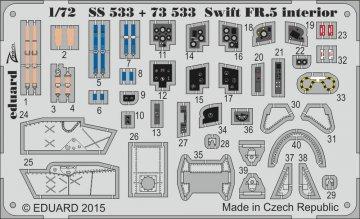 Supermarine Swift FR.5 - Interior [Airfix] · EDU SS533 ·  Eduard · 1:72