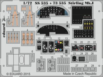 Stirling Mk.I [Italeri] · EDU SS535 ·  Eduard · 1:72