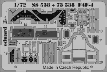 F4F-4 [Airfix] · EDU SS538 ·  Eduard · 1:72