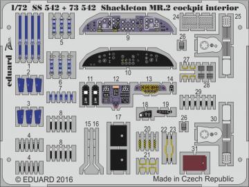 Shackleton MR.2 cocpit - Interior [Airfix] · EDU SS542 ·  Eduard · 1:72