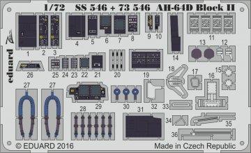 AH-64D Block II - Interior [Academy] · EDU SS546 ·  Eduard · 1:72