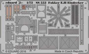 Fokker E.II Eindecker [Airfix] · EDU SS552 ·  Eduard · 1:72