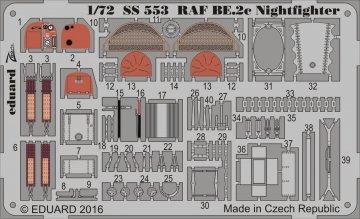 RAF BE.2c Nightfighter [Airfix] · EDU SS553 ·  Eduard · 1:72