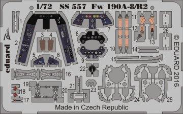 Focke-Wulf Fw 190 A-8/R2 - Weekend Edition [Eduard] · EDU SS557 ·  Eduard · 1:72