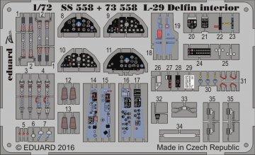 L-29 Delfin - Interior [AMK] · EDU SS558 ·  Eduard · 1:72