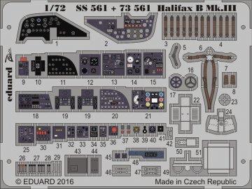 Handley Page Halifax B Mk.III [Revell] · EDU SS561 ·  Eduard · 1:72