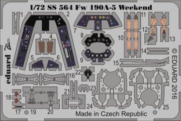 Focke-Wulf Fw 190 A-5 - Weekend Edition [Eduard] · EDU SS564 ·  Eduard · 1:72