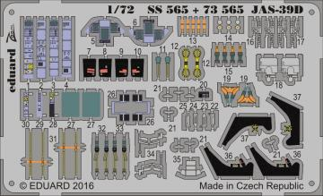 Saab JAS-39D Gripen TwinSeater [Revell] · EDU SS565 ·  Eduard · 1:72