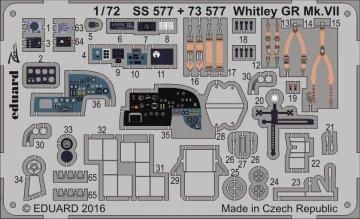Armstrong Whitworth Whitley Mk.VII [Airfix] · EDU SS577 ·  Eduard · 1:72