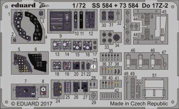 Dornier Do 17 Z-2 [ICM] · EDU SS584 ·  Eduard · 1:72