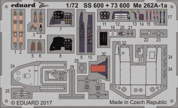 Messerschmitt Me 262 A-1a [Airfix] · EDU SS600 ·  Eduard · 1:72