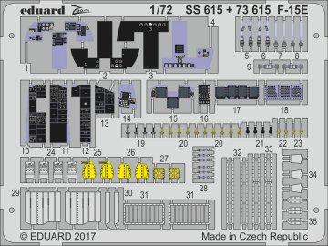 U.S. Ariforce F-15E [Great Wall Hobby] · EDU SS615 ·  Eduard · 1:72