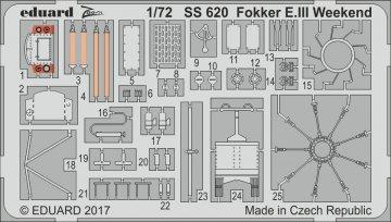 Fokker E.III - Weekend Edition [Eduard] · EDU SS620 ·  Eduard · 1:72