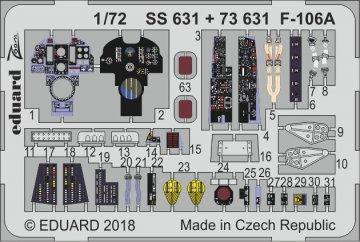 US F-106A Delta Dart [Trumpeter] · EDU SS631 ·  Eduard · 1:72