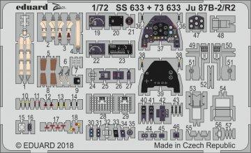 Junkers Ju 87 B-2/R-2 Stuka [Airfix] · EDU SS633 ·  Eduard · 1:72