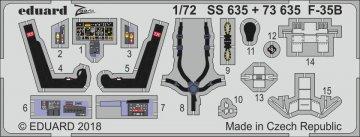 F-35B [Hasegawa] · EDU SS635 ·  Eduard · 1:72