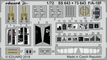 F/A-18F [Academy] · EDU SS643 ·  Eduard · 1:72