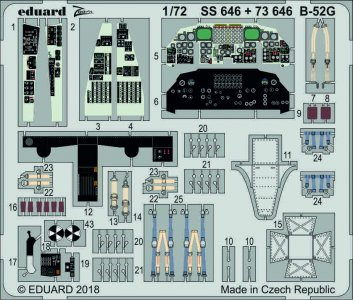 B-52G Stratofortress [Modelcollect] · EDU SS646 ·  Eduard · 1:72