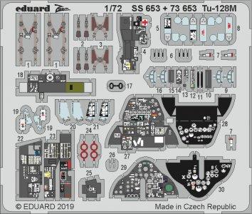 Tu-128M Fiddler [Trumpeter] · EDU SS653 ·  Eduard · 1:72