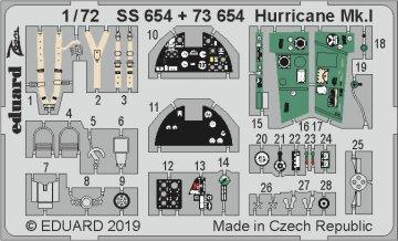 Hurricane Mk.I [Arma Hobby] · EDU SS654 ·  Eduard · 1:72