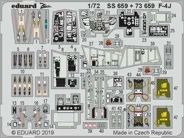 F-4J Phantom [Academy] · EDU SS659 ·  Eduard · 1:72