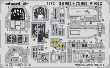 F-105D Thunderchief [Trumpeter] · EDU SS662 ·  Eduard · 1:72