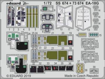 EA-18G [Hasegawa] · EDU SS674 ·  Eduard · 1:72