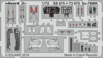 Su-7BMK [Modelsvit] · EDU SS675 ·  Eduard · 1:72
