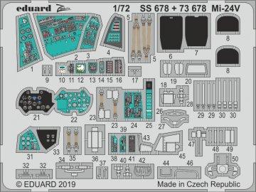 Mi-24V [Zvezda] · EDU SS678 ·  Eduard · 1:72